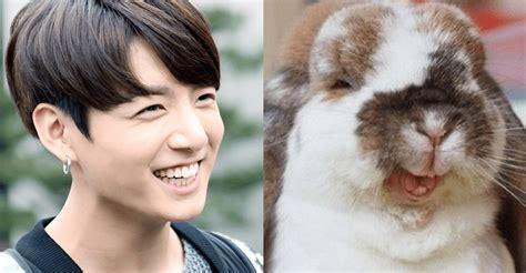 like a bunny bts jungkook always smiles like a bunny koreaboo