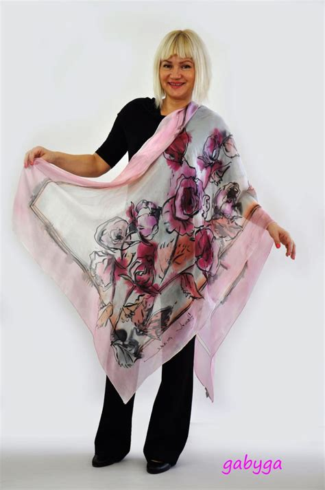 Exsotic Style Pashmina S255 1000 images about silk clothes on silk sarees painted silk scarves and skull