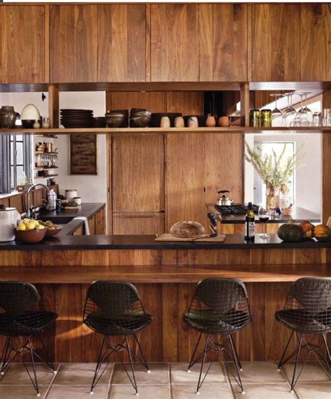 Timber Kitchen Designs with Warm Timber Kitchen Design Home Sweet Home Pinterest