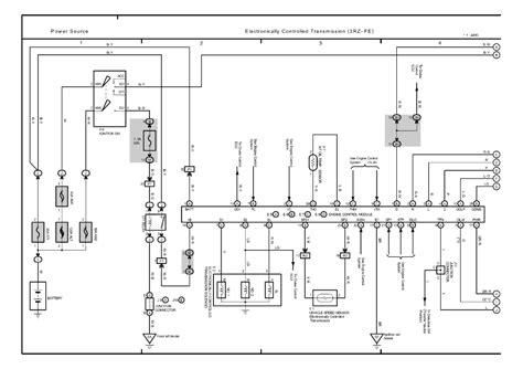toyota tacoma radio wiring diagram toyota free engine