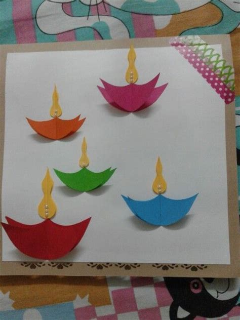 Handmade Crafts For Diwali - 25 best ideas about diwali cards on diwali