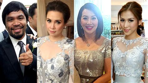 paul soriano and kc concepcion in photos celebrity guests at toni gonzaga paul soriano
