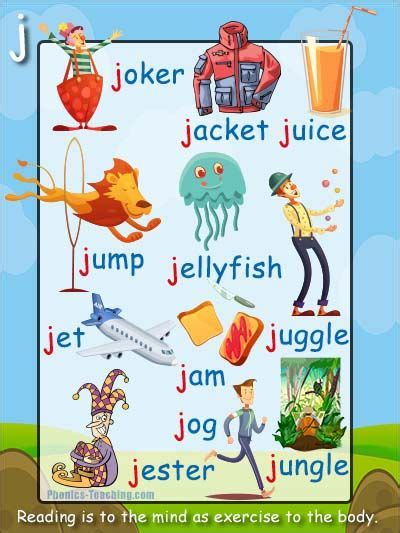 6 letter words that start with pl j words j phonics poster free printable words