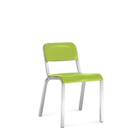 emeco sedie sedia impilabile in alluminio 1951 sedia emeco