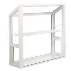 shop thermastar by pella 36 in x 36 in garden window at