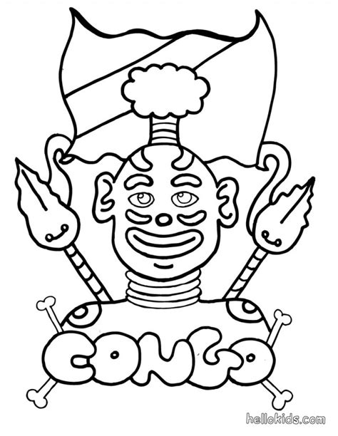 Africa Coloring Pages For Kids Az Coloring Pages Africa Coloring Pages