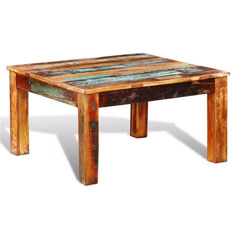 2 vierkante salontafels salontafel sloophout vierkant online vidaxl be
