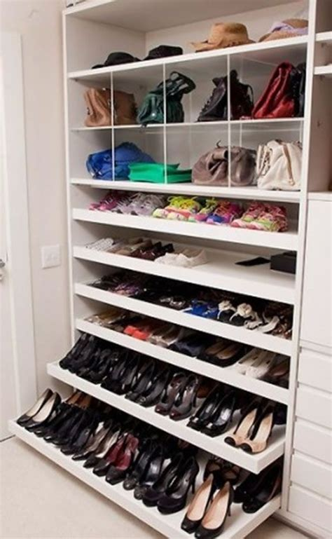 1000 ideas about shoe shelves on shoe racks
