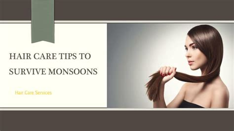 download hair care tips ppt hair care tips for monsoon myglamm powerpoint