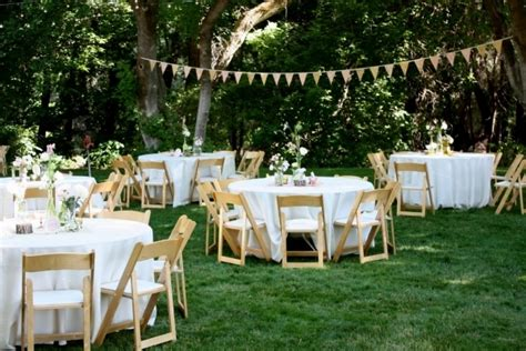 backyard wedding layout small wedding reception ideas small room decorating