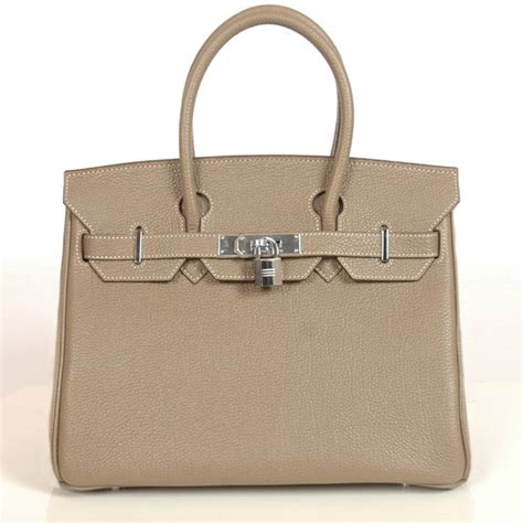 Hermes Togo Grey h30bjdgs hermes birkin togo leather 30cm togo in grey