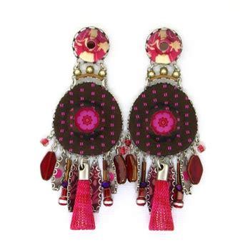 ayala bar cerise earrings 117362 fall 2014