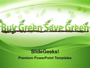 save powerpoint template as theme buy green save green environment powerpoint templates and