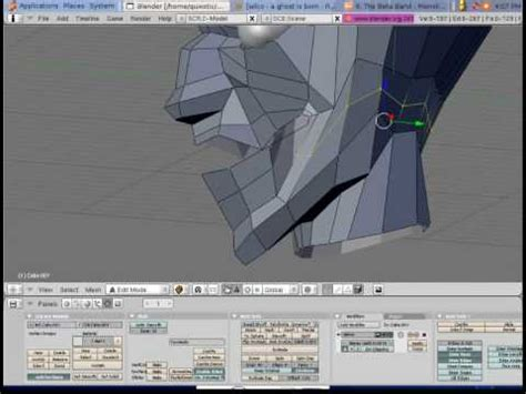 tutorial blender monster modeling a monster head in blender youtube