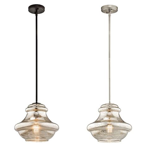 kichler pendant light fixtures kichler 42044 everly vintage 12 quot wide pendant light