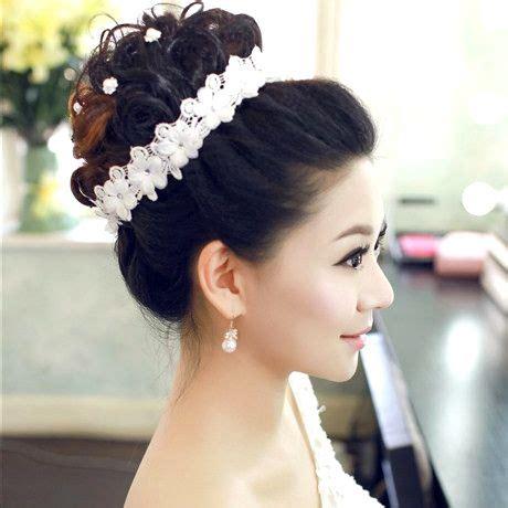 model gaya rambut pengantin wanita modern  terbaru
