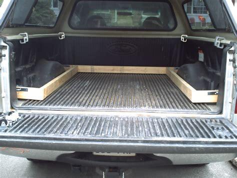 diy bed slide truck bed slide out tray diy crafts