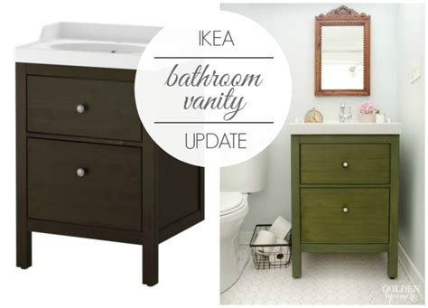 bathroom vanity update ikea bathroom vanity update on the update the golden