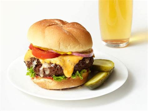 Cheeseburger Recipe cheesy cheeseburgers recipe food network kitchen food