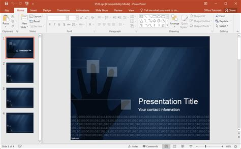 templates powerpoint security best cyber security backgrounds for presentations