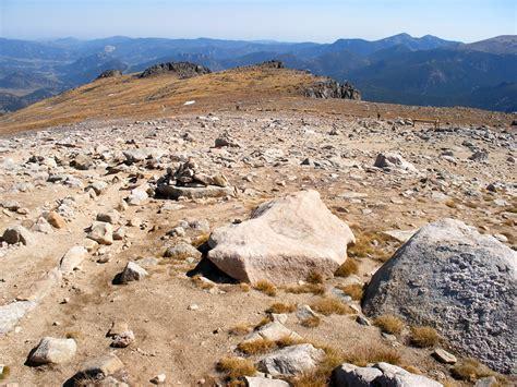 flattop mountain  loop hike rocky mountain national