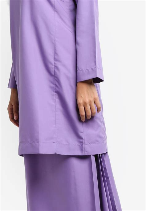 Baju Kurung Purple Lavender baju kurung qasidah lavender purple aa4077bk amar amran boutique