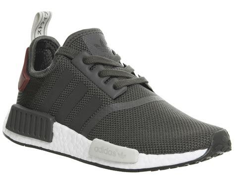 Sepatu Adidas Nmd R1 Womens Grey Pink Premium Quality mens adidas nmd runner utility grey maroon trainers shoes
