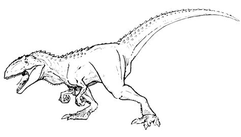 zoom dinosaurs coloring pages dinosauri il gigantosauro pronto all attacco