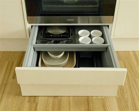 Oven Storage Drawer by Built Oven Housing Storage Drawer Kitchen