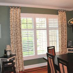 window shutters with curtains 1000 images about curtain ideas on pinterest window