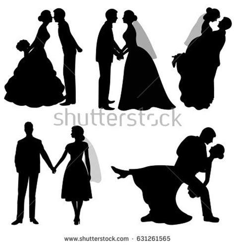 Diskon Set Balon And Groom groom set collection black silhouette stock vector