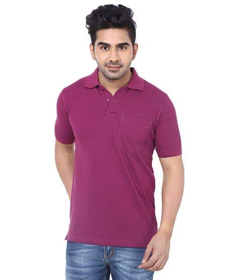 Tshirt Crocks crocks club purple half sleeve polo t shirt for buy
