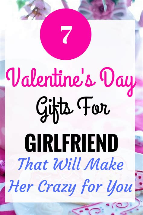 valentine day gifts for wife 7 cute valentines day present for girlfriend girls gift blog