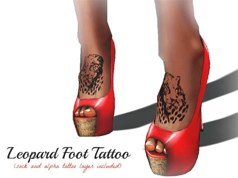 halo and horns tattoo designs horns and halos leopard foot design for