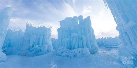 frozen castle to open its wintry gates in canada
