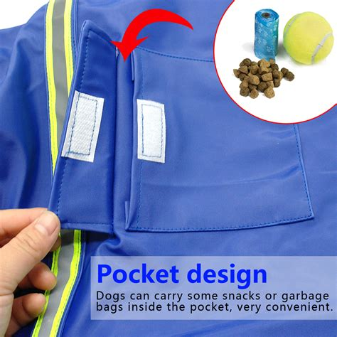 Jaket Anti Hujan Anjing Waterproof Jaket Anti Hujan Anjing Waterproof Size L Blue Jakartanotebook