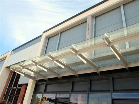 Canopy Developers Sc156 Suspended Glass Canopies Retail Development