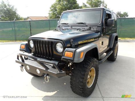 2006 jeep golden eagle black 2006 jeep wrangler sport 4x4 golden eagle exterior