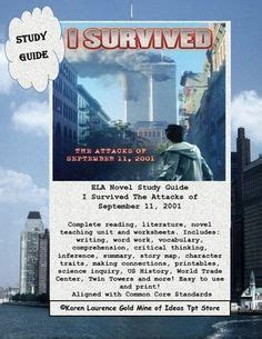 i survived the attacks of september 11 2001 book report i survived the attacks of september 11 2001 no prep