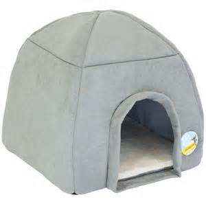 dog igloo bed me my super soft large grey cat dog igloo pet bed warm