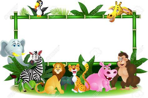 safari cartoon mammal clipart jungle safari pencil and in color mammal