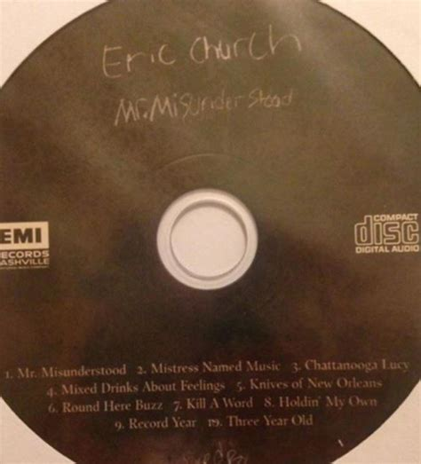 eric church fan club eric church sent a surprise album to fan club members