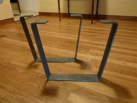 Flat Bar Table Legs Metal Coffee Table Legs 2 5 In Steel Flat Bar Trapezoid Flats Metal Coffee Tables And Legs