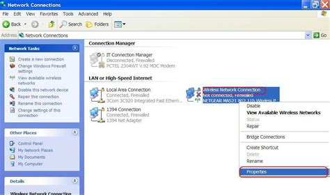 xp configure home page how to troubleshoot wireless network connections in