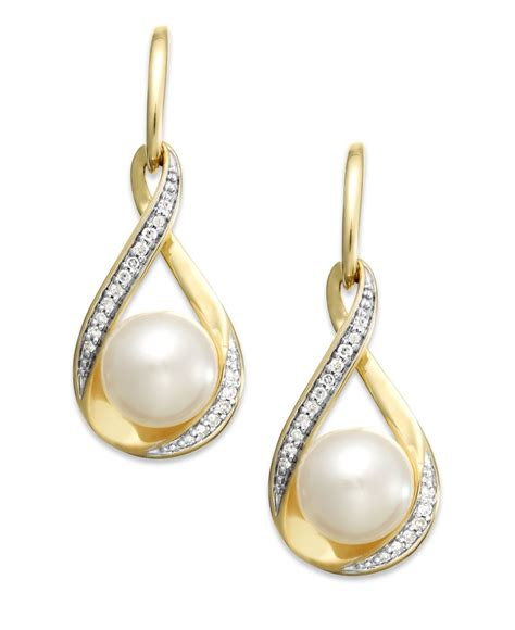 macy s cultured freshwater pearl 7mm and 1 10