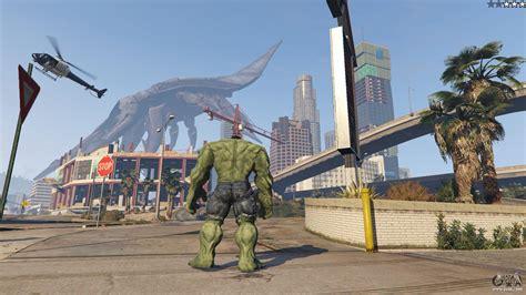 mod gta 5 pc hulk the hulk for gta 5