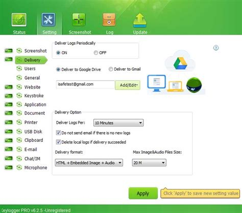 isafe keylogger full version screenshots of isafe remote install keylogger best