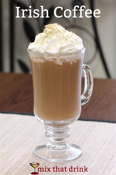 Irish Coffee drink recipe   Mix That Drink