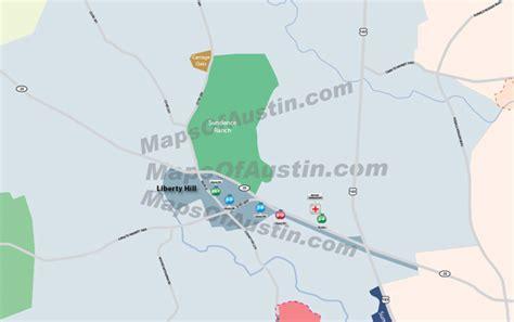 liberty hill texas map liberty hill tx liberty hill tx neighborhood map
