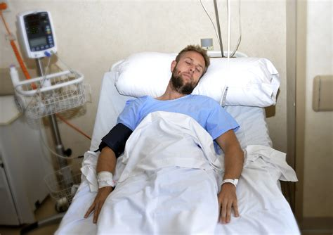 guy in hospital bed whether the ehic remains or not it s no replacement for